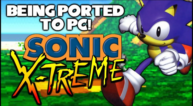 Sonic X-Treme Engine V037 – New Version Released, Features 150 Original Testmaps To Playthrough