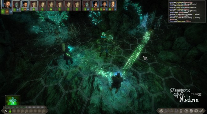 Dungeons of Aledorn – Old School Hardcore RPG Featuring Turn-Based Combat System