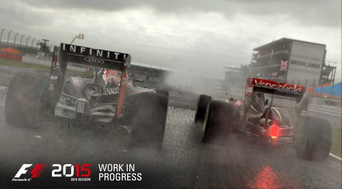 F1 2015 – First PC Gameplay Footage Revealed
