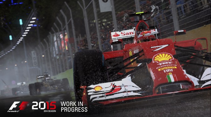 F1 2015 – First Details & Screenshots Unveiled, Releases This June