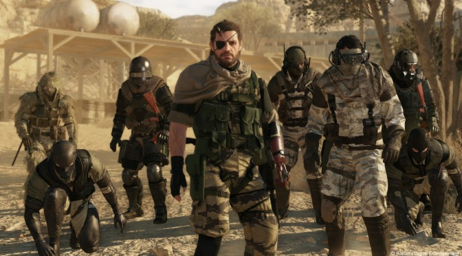 Metal Gear Online Has Been Officially Launched For The PC