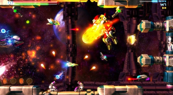 Pythetron – Glorious 2.5D SHMUP from a Single Person – Kickstarter Campaign Launched
