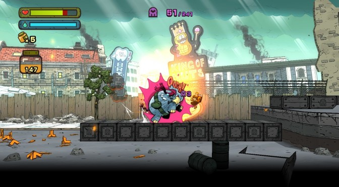 Tembo the Badass Elephant Announced – New 2D Side-Scroller from the Creators of Pokemon Games