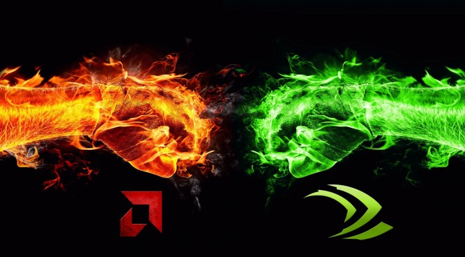 AMD vs NVIDIA by MAHSPOONIS2BIG