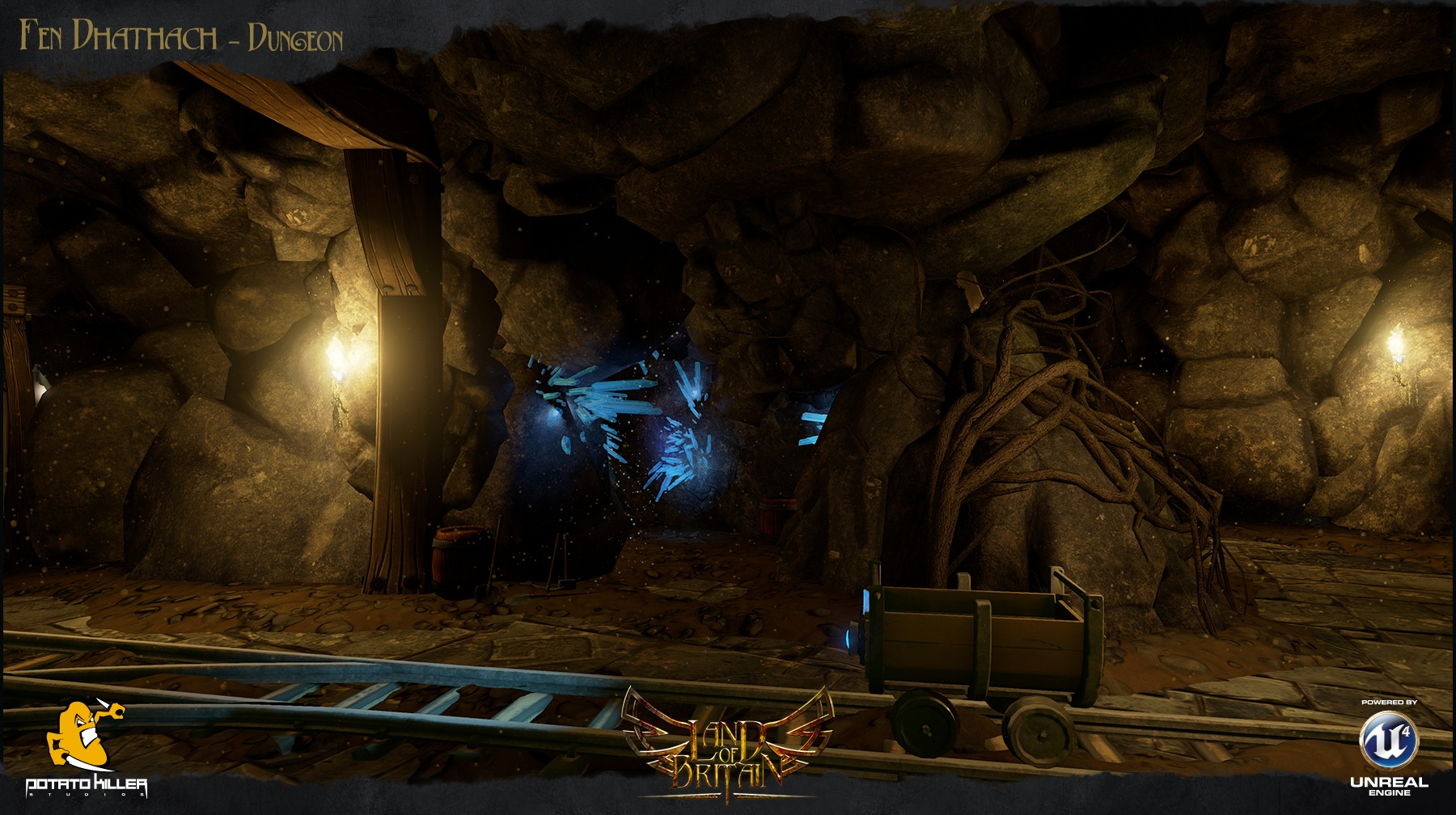 Land of Britain to Be Now Powered by Unreal Engine 4, First