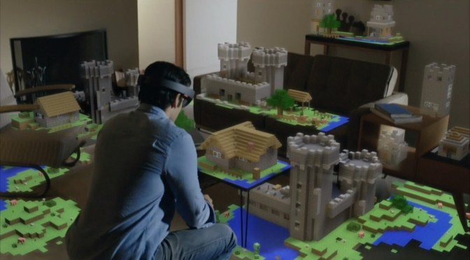 Microsoft HoloLens – On Stage Demo at BUILD 2015