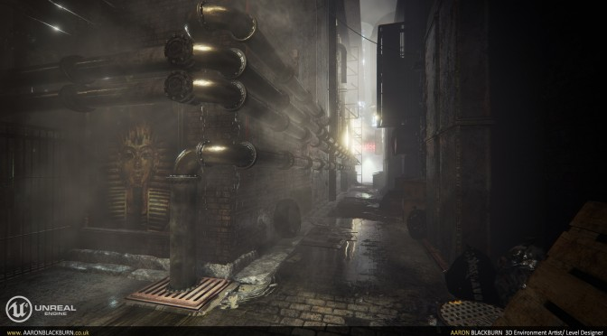 """Here Is What a Next-Gen """"Blade Runner"""" Game Could Look Like in Unreal Engine 4"""