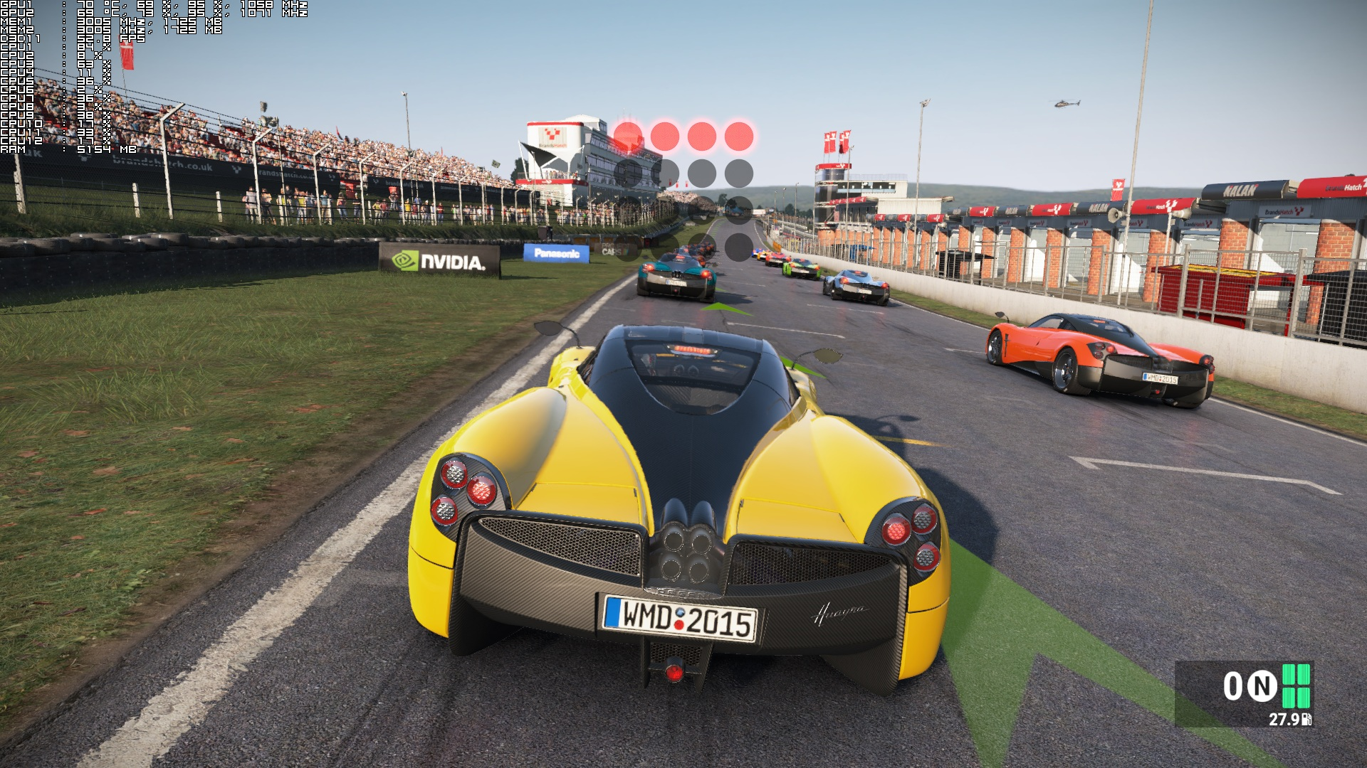 Brands Hatch + Pagani Huayra + Clear - Hour 1700 High