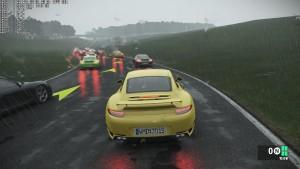 Cadwell Club + Ruf RGT8 + Fog with Rain - Hour 1500 High