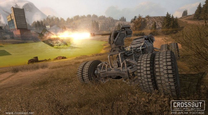 """Post-apocalyptic vehicle-based MMO """"Crossout"""" Announced"""