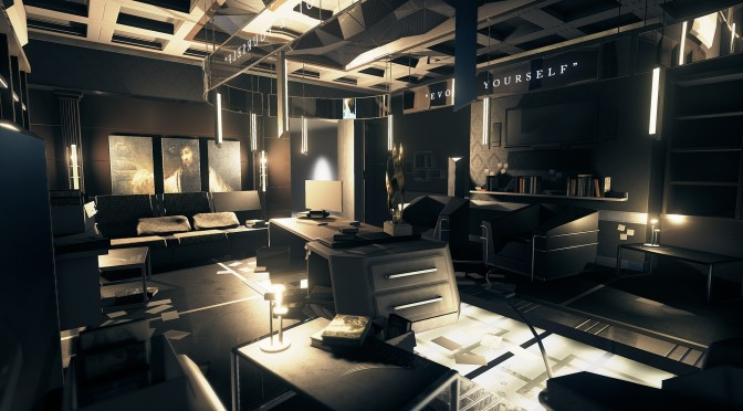 Ubisoft Reflections' Artist Recreates Deus Ex: Human Revolution in Unreal Engine 4
