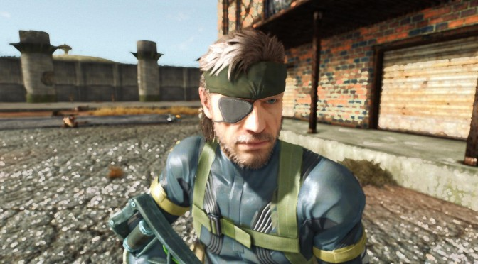 Metal Gear Solid: Ground Zeroes – Big Boss Character Model Comes To Fallout: New Vegas
