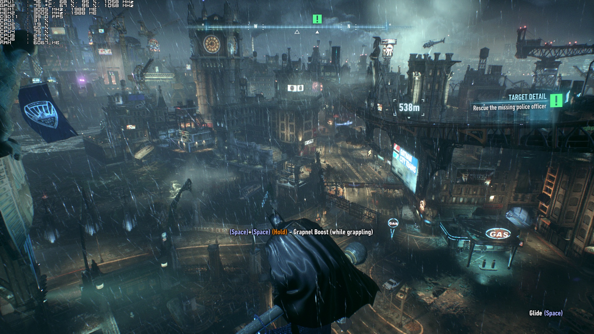Batman: Arkham Knight Is A Technical Mess On The PC, High versus Low