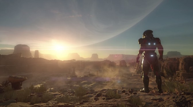 Mass Effect: Andromeda – Prototype Tech Video Leaked Online