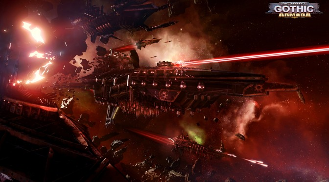Battlefleet Gothic: Armada – New Trailer Focuses On The Eldar Fleet