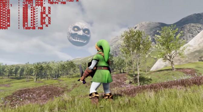 The Legend Of Zelda Goes Open World In Unreal Engine 4 Demo