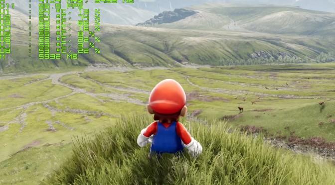 Mario Invades Epic Games' A Boy And His Kite Tech Demo