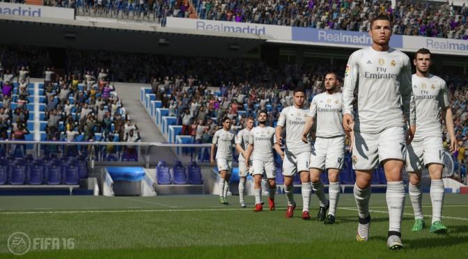FIFA 16 – New Screenshots & Trailer Dedicated To Real Madrid