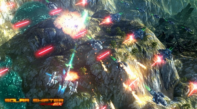 """Sci-fi Shoot 'Em up """"Solar Shifter EX"""" Releases Today On Steam"""