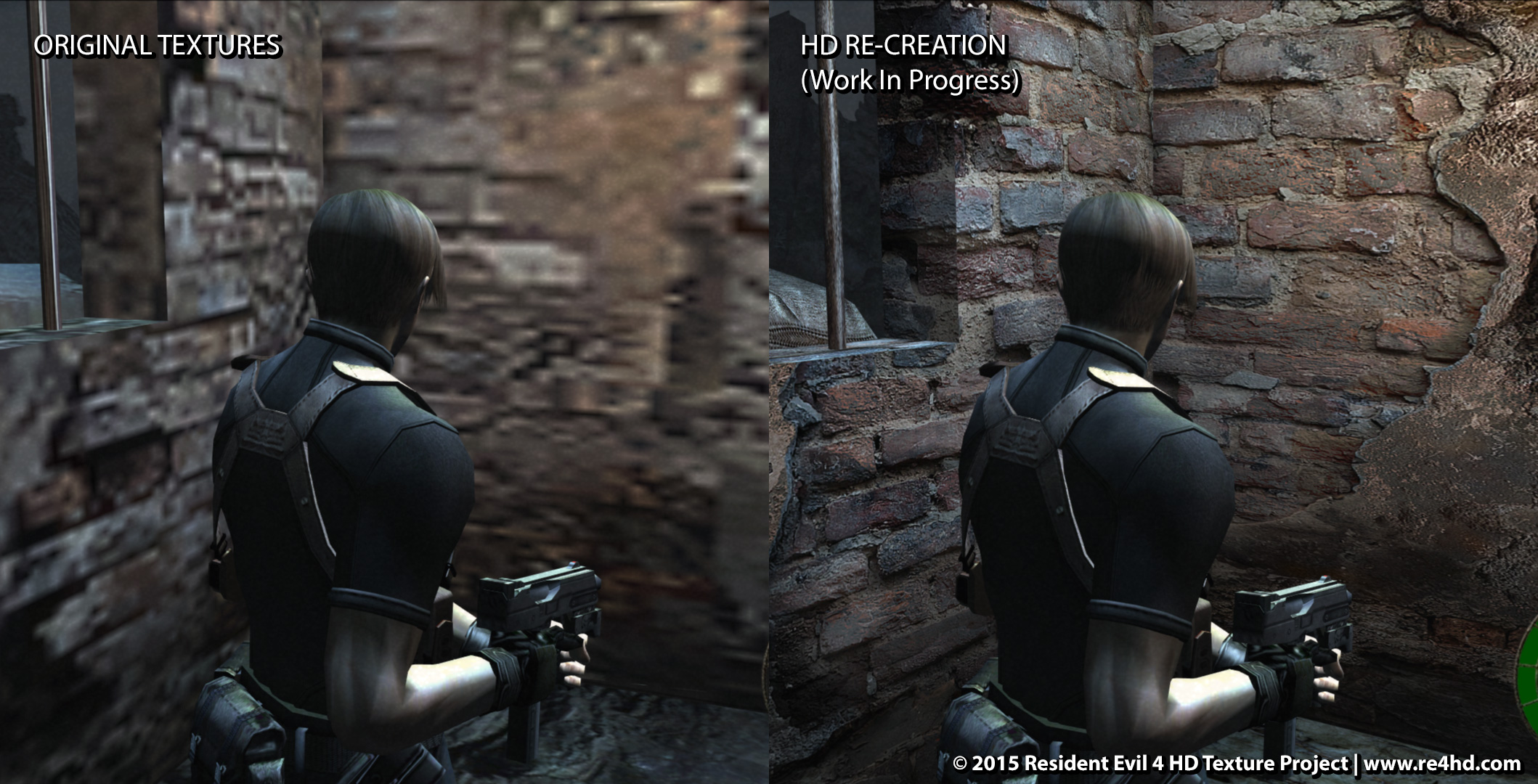 Resident Evil 4 Hd Project New Mind Blowing Comparison