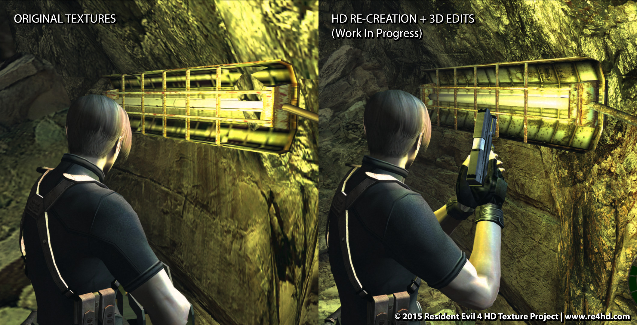Resident Evil 4 HD Project - New Mind-blowing Comparison