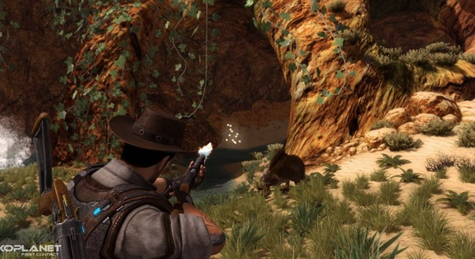 Exoplanet: First Contact – Space-western Story-driven Action RPG – Kickstarter Launched