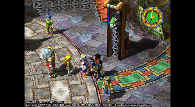 Grandia II Anniversary Edition Gets Launch Screenshots