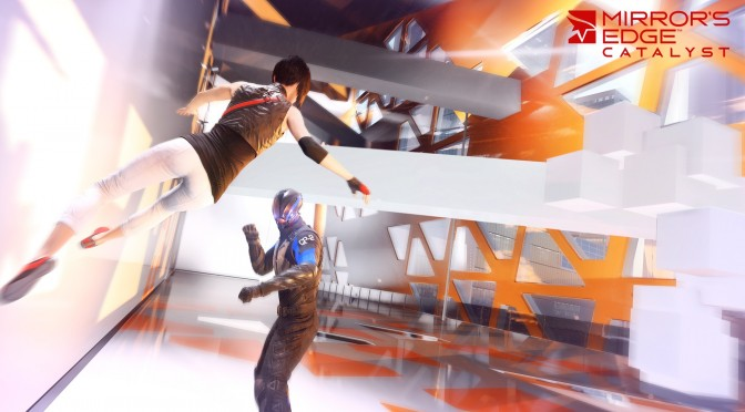 Here is what Mirror's Edge Catalyst looks like in third-person mode