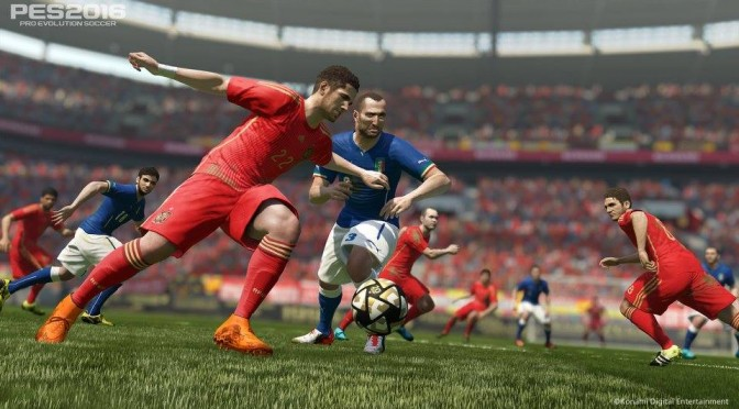 Pro Evolution Soccer 2016 – PC versus PS4/Xbox One Comparison Video