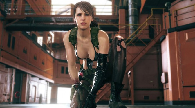 New Metal Gear Solid V: The Phantom Pain patch makes Quiet playable in FOB Online Mode