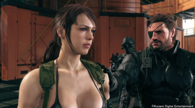 Metal Gear Solid 5 Quiet Nude Mod available now for download