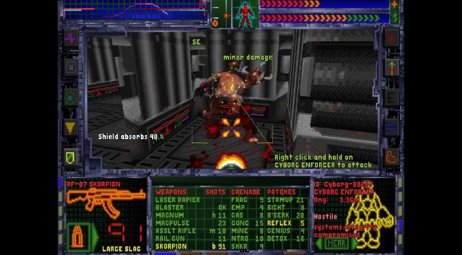 System Shock: Enhanced Edition Is Now Available On GOG