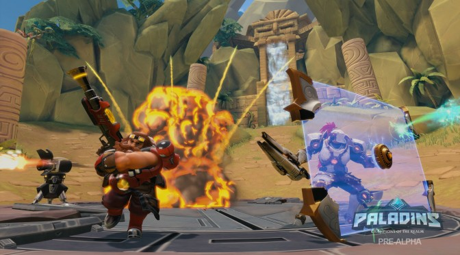 Hi-Rez Studios' free-to-play Paladins has more than 8.5 million registered players
