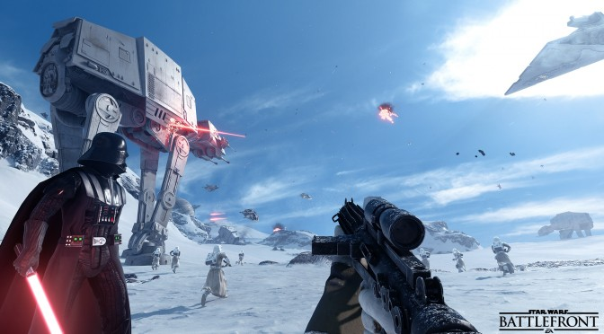 Star Wars: Battlefront – Comparison Shot Shows How Close To The Real Thing The Game Came