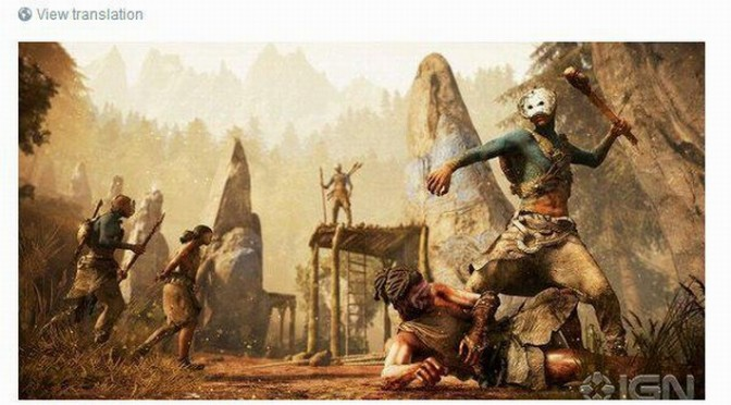 IGN Leaks Ubisoft's Upcoming Announcement, Far Cry: Primal