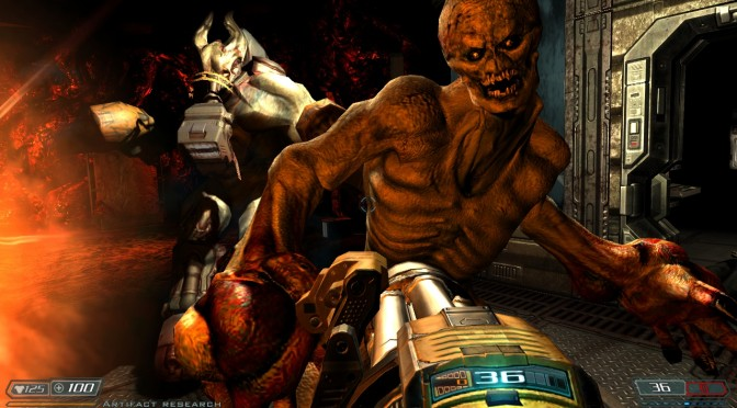 New mod adds HTC Vive and actual motion controller support to Doom 3: BFG Edition