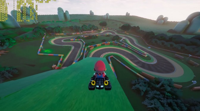 Mario Kart In Unreal Engine 4 Is Kind Of Cool, Download Now Available