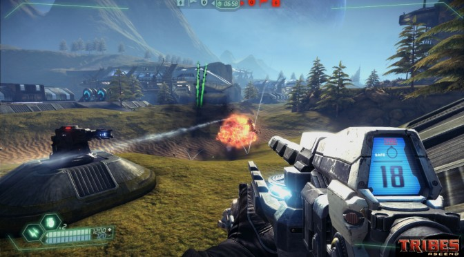 Tribes Ascend receives its last patch, will not be supported anymore