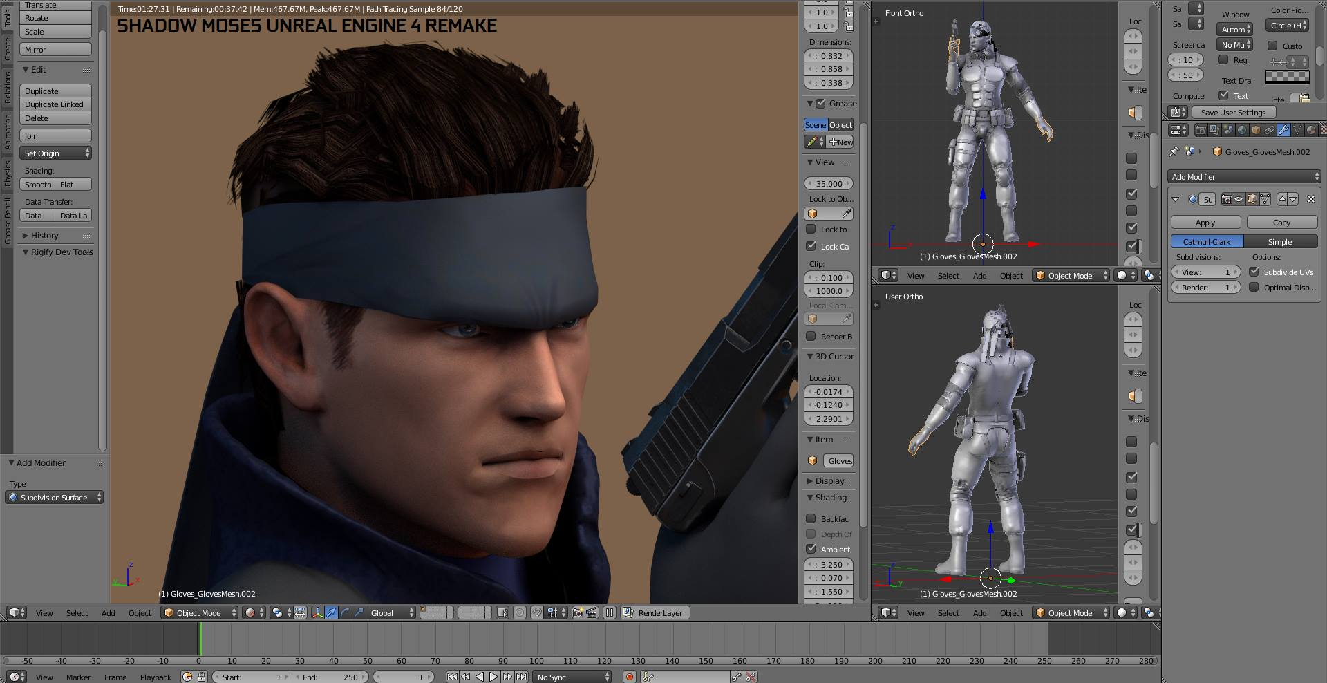 Metal Gear Solid's Shadow Moses Unreal Engine 4 Remake