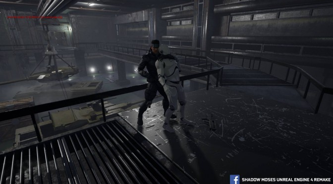 Shadow Moses Unreal Engine 4 Remake – New Beautiful Screenshots Released