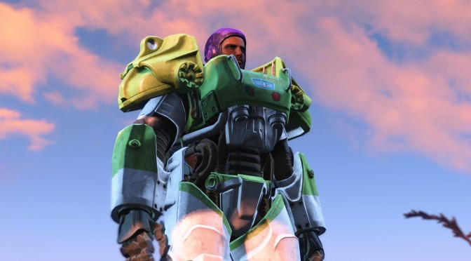 Fallout 4 – New Mod Brings Toy Story's Buzz Lightyear To Bethesda's Open World Game