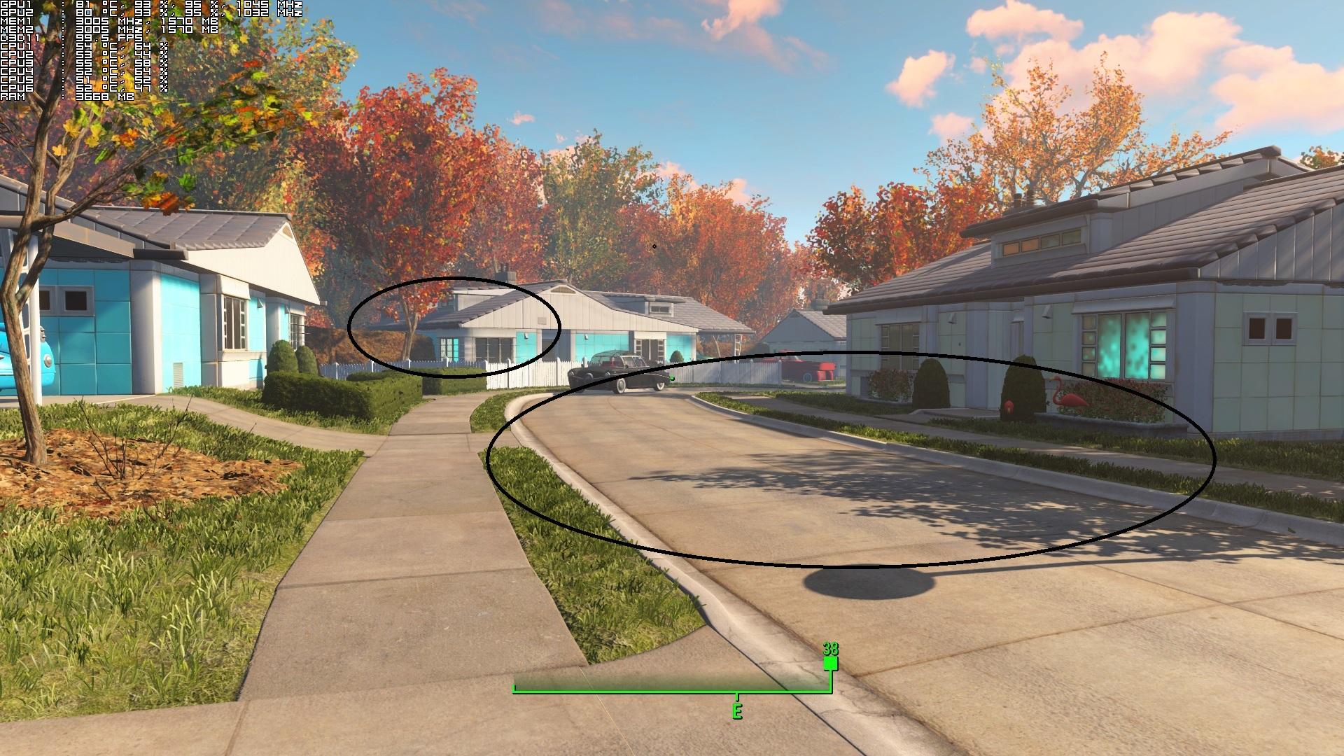 Fallout 4 shadows fading