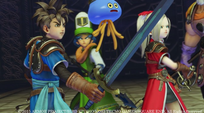 Dragon Quest Heroes: The World Tree's Woe and the Blight Below Officially Coming To Steam, PC Requirements Revealed