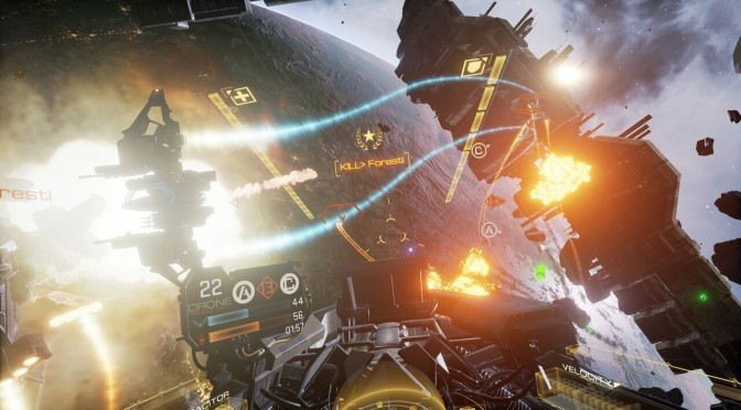 "EVE: Valkyrie now features a ""Ultra Graphics"" mode powered by NVIDIA's VRWorks & GameWorks techs"