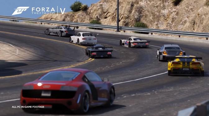 Forza 6 Launch Trailer Recreated In Grand Theft Auto V