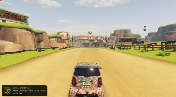 Grand Theft Auto V Custom Maps – Mario Kart 8 Comes To Rockstar's Title