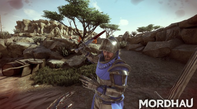 Here are almost 7 minutes of gameplay footage from the medieval first-person melee game, Mordhau