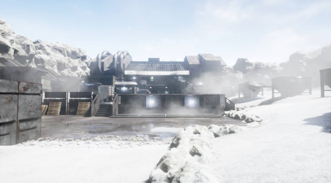 Metal Gear Solid Shadow Moses Remake In Unreal Engine 4 – New Screenshots Show Daytime Lighting