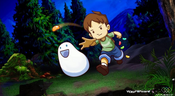 A Boy and His Blob Coming to Steam on January 19th