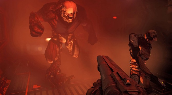 DOOM is selling well on the PC as it is this week's best selling PC game in UK, on Steam and on GMG